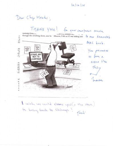 Trudi letter