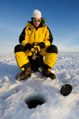 ice fisher